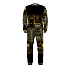 Board Digitization Circuits Onepiece Jumpsuit (kids)