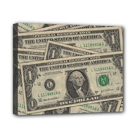 Dollar Currency Money Us Dollar Canvas 10  X 8