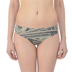 Dollar Currency Money Us Dollar Hipster Bikini Bottoms