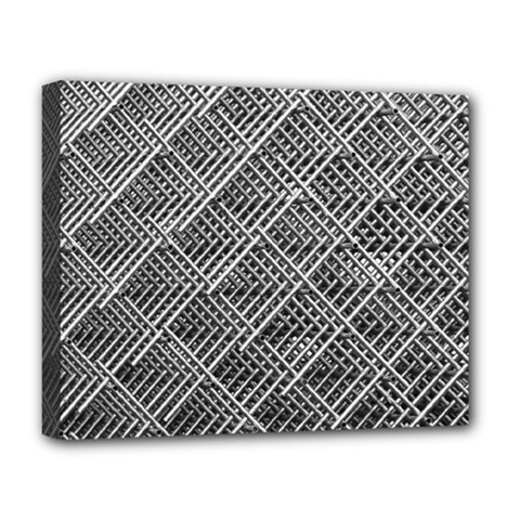 Grid Wire Mesh Stainless Rods Deluxe Canvas 20  X 16