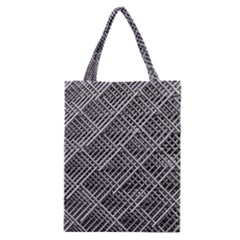 Grid Wire Mesh Stainless Rods Classic Tote Bag