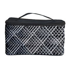 Grid Wire Mesh Stainless Rods Cosmetic Storage Case
