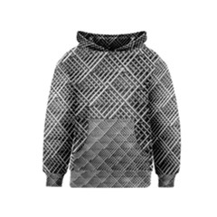 Grid Wire Mesh Stainless Rods Kids  Pullover Hoodie