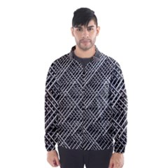 Grid Wire Mesh Stainless Rods Wind Breaker (men)