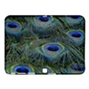 Peacock Feathers Blue Bird Nature Samsung Galaxy Tab 4 (10.1 ) Hardshell Case  View1