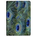 Peacock Feathers Blue Bird Nature Apple iPad Pro 12.9   Flip Case View1