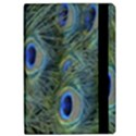 Peacock Feathers Blue Bird Nature Apple iPad Pro 12.9   Flip Case View2