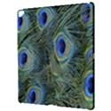 Peacock Feathers Blue Bird Nature Apple iPad Pro 12.9   Hardshell Case View3