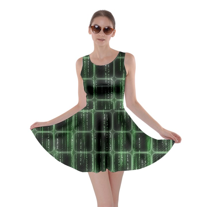 Matrix Earth Global International Skater Dress