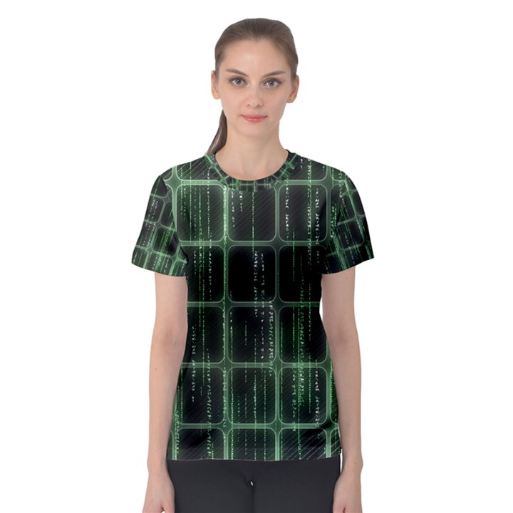 Matrix Earth Global International Women s Sport Mesh Tee