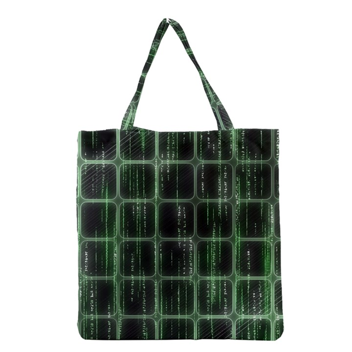 Matrix Earth Global International Grocery Tote Bag