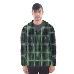 Matrix Earth Global International Hooded Wind Breaker (men)