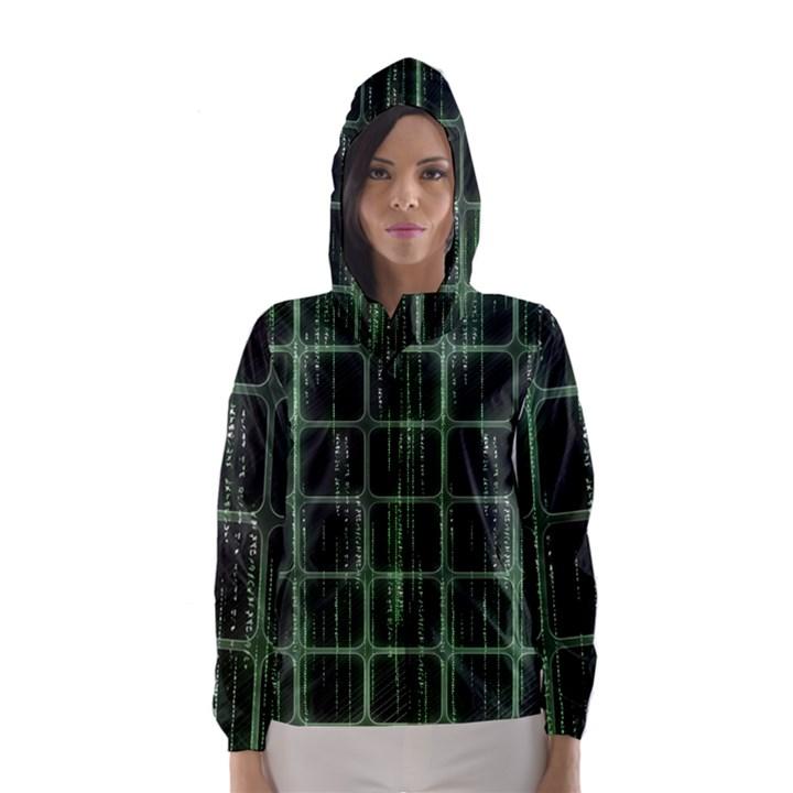 Matrix Earth Global International Hooded Wind Breaker (Women)