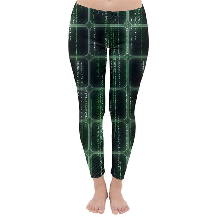 Matrix Earth Global International Classic Winter Leggings