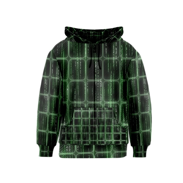 Matrix Earth Global International Kids  Zipper Hoodie
