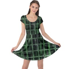 Matrix Earth Global International Cap Sleeve Dress