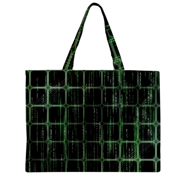 Matrix Earth Global International Zipper Mini Tote Bag