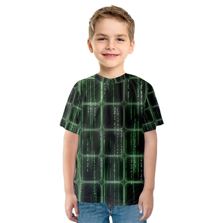 Matrix Earth Global International Kids  Sport Mesh Tee