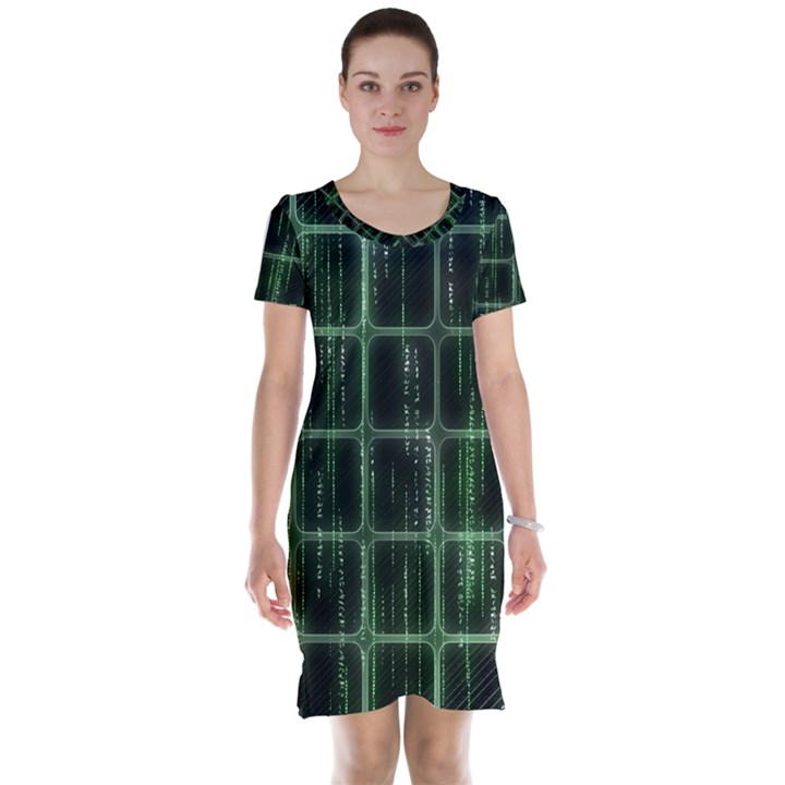 Matrix Earth Global International Short Sleeve Nightdress