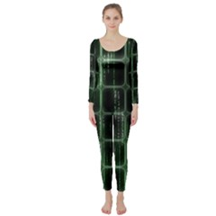 Matrix Earth Global International Long Sleeve Catsuit