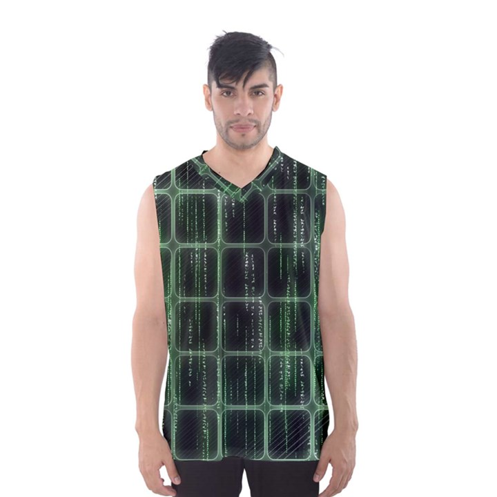 Matrix Earth Global International Men s Basketball Tank Top