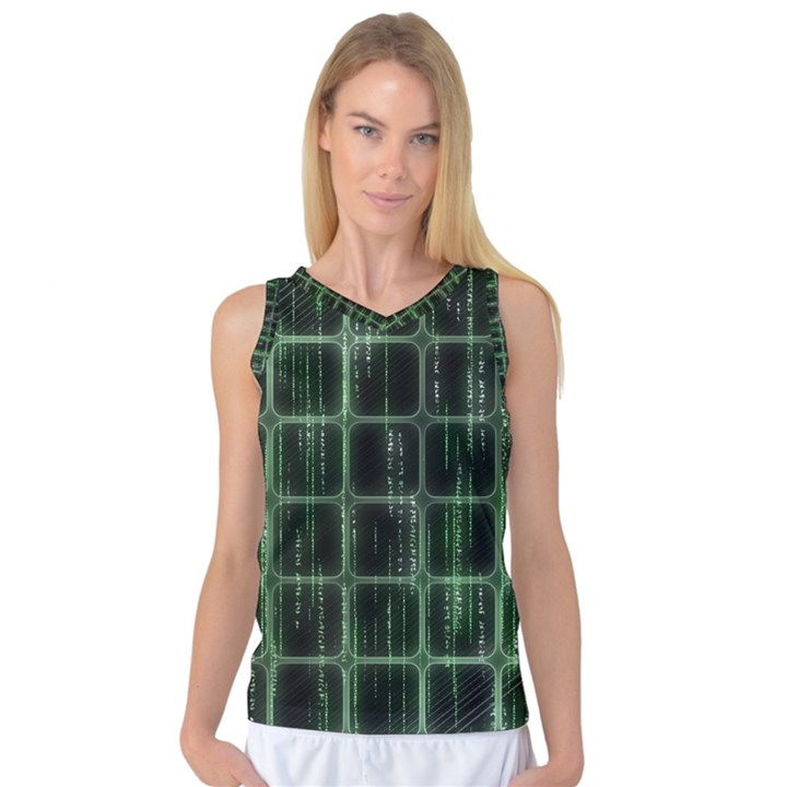 Matrix Earth Global International Women s Basketball Tank Top