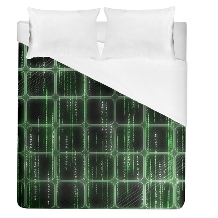 Matrix Earth Global International Duvet Cover (Queen Size)