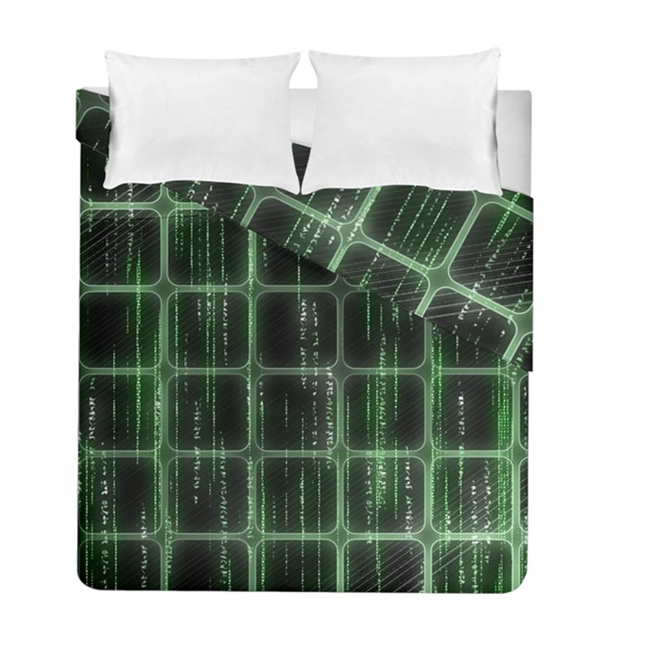 Matrix Earth Global International Duvet Cover Double Side (Full/ Double Size)