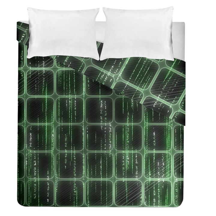 Matrix Earth Global International Duvet Cover Double Side (Queen Size)