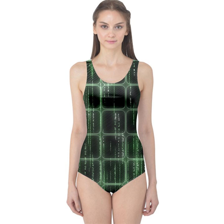 Matrix Earth Global International One Piece Swimsuit