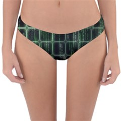Matrix Earth Global International Reversible Hipster Bikini Bottoms