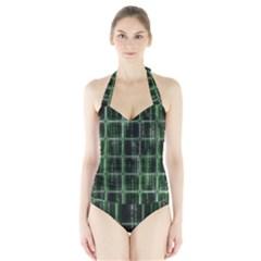 Matrix Earth Global International Halter Swimsuit