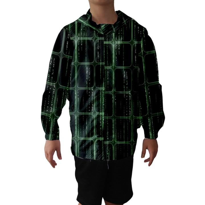 Matrix Earth Global International Hooded Wind Breaker (Kids)