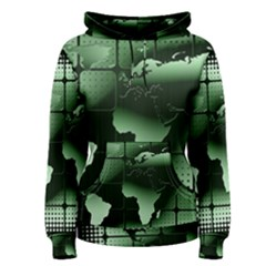 Matrix Earth Global International Women s Pullover Hoodie