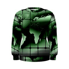 Matrix Earth Global International Women s Sweatshirt