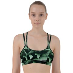 Matrix Earth Global International Line Them Up Sports Bra