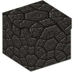 Tile Emboss Luxury Artwork Depth Storage Stool 12