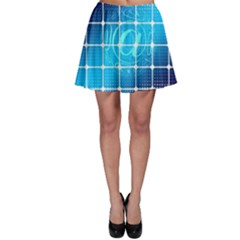 Tile Square Mail Email E Mail At Skater Skirt