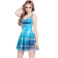 Tile Square Mail Email E Mail At Reversible Sleeveless Dress