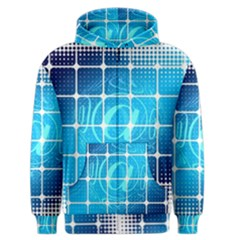 Tile Square Mail Email E Mail At Men s Zipper Hoodie