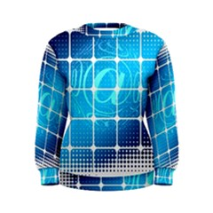 Tile Square Mail Email E Mail At Women s Sweatshirt