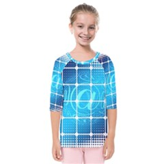 Tile Square Mail Email E Mail At Kids  Quarter Sleeve Raglan Tee