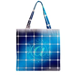 Tile Square Mail Email E Mail At Zipper Grocery Tote Bag
