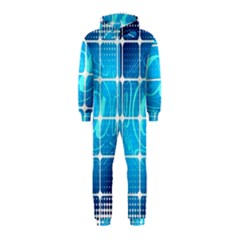 Tile Square Mail Email E Mail At Hooded Jumpsuit (kids)