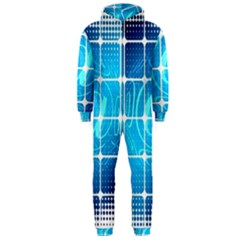 Tile Square Mail Email E Mail At Hooded Jumpsuit (men)