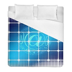 Tile Square Mail Email E Mail At Duvet Cover (full/ Double Size)