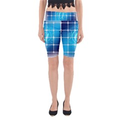 Tile Square Mail Email E Mail At Yoga Cropped Leggings