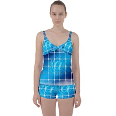 Tile Square Mail Email E Mail At Tie Front Two Piece Tankini