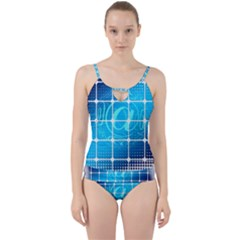 Tile Square Mail Email E Mail At Cut Out Top Tankini Set
