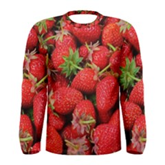 Strawberries Berries Fruit Men s Long Sleeve Tee